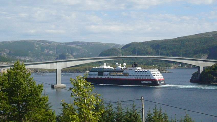 Frachtschiff Hurtigrute