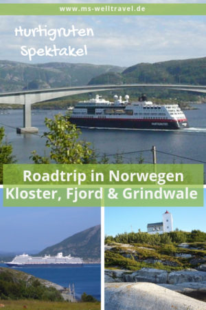 Pinterest Pin für Roadtrip Norwegen