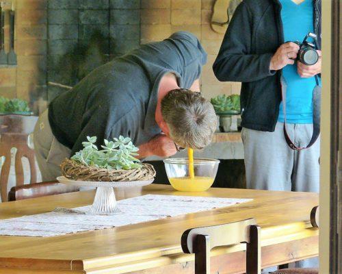 SkeidingFarm Straußen-Ei zum Frühstück