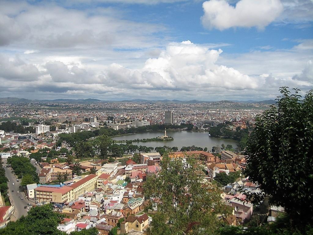 Ausblick auf Antananarivo