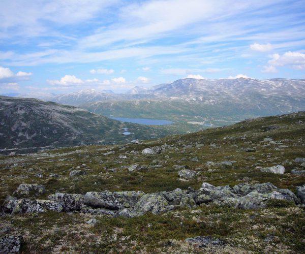 Hochplateau mit Gletschersee