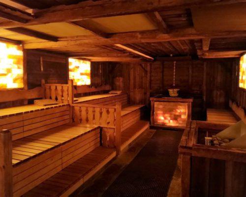 Salzstollen-Sauna