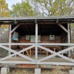 Schutzhütte auf der Wanderung um den Dieksee in Malente