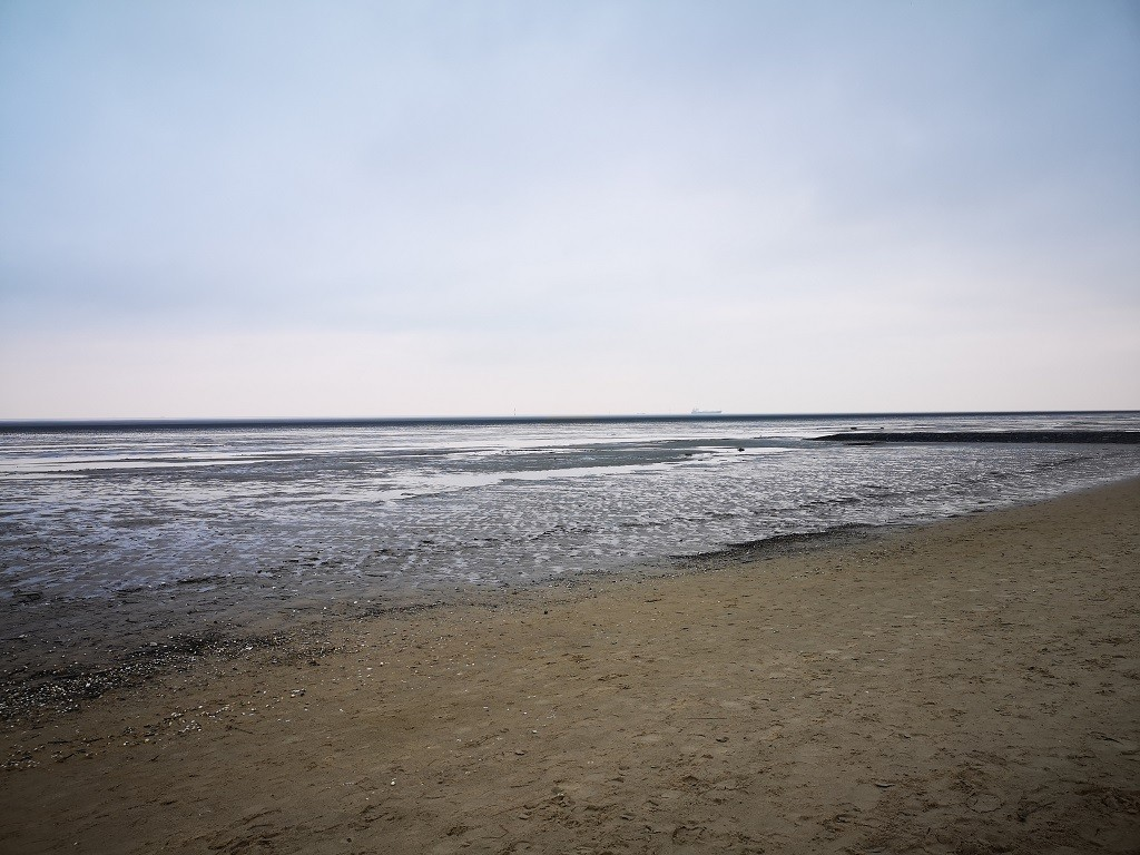 Ebbe an der Nordsee