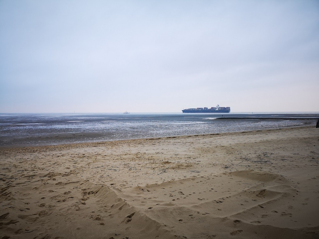 Strandspaziergang Nordsee