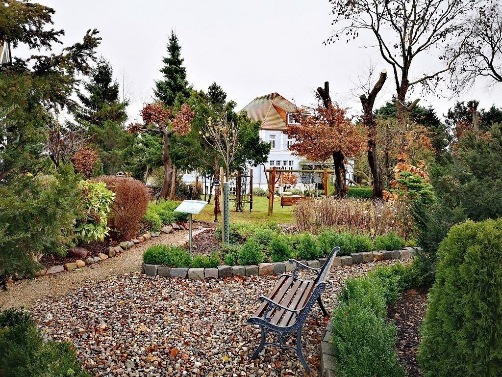 Garten vom Gutspark Wangern