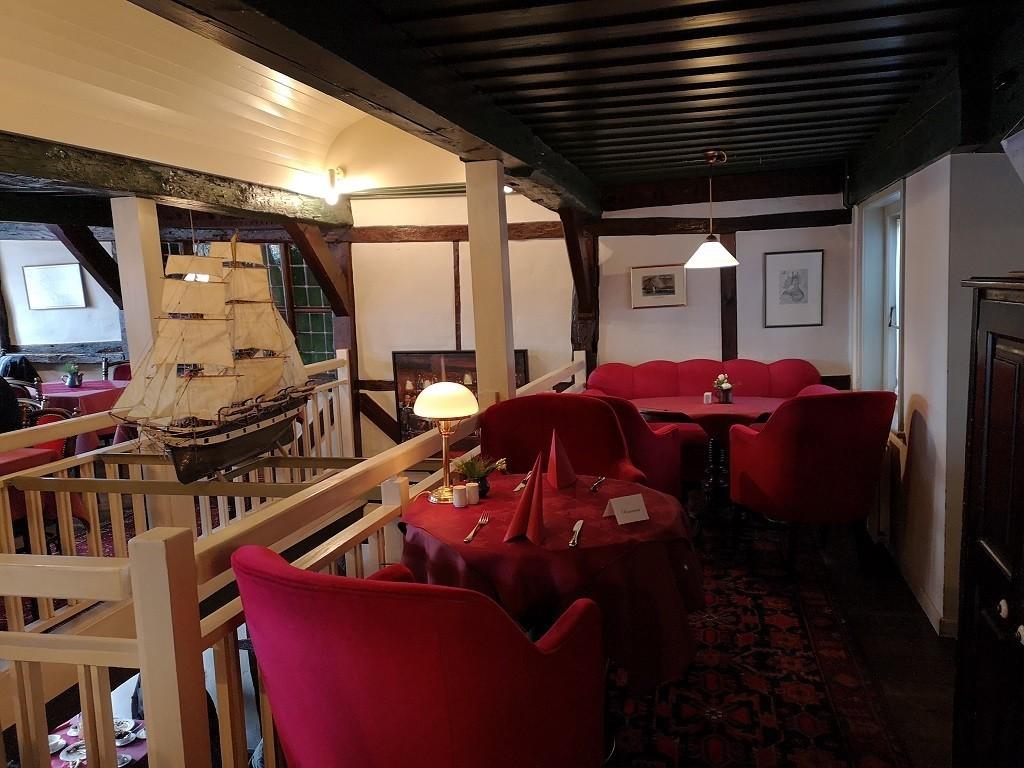 Maritime Dekoration im Gasthaus