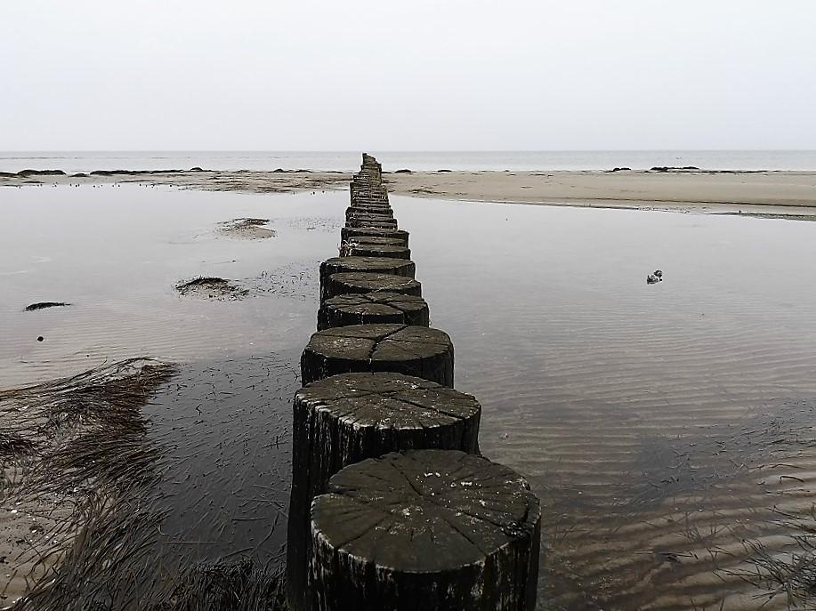Strandspaziergang an der Ostsee