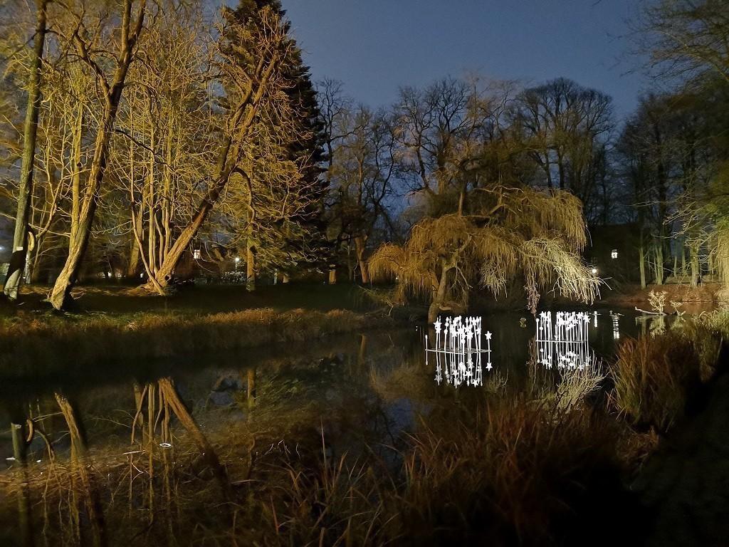 Lichterpark am Schloss Ritzebüttel