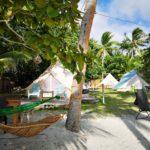 Zelt und Hängematte