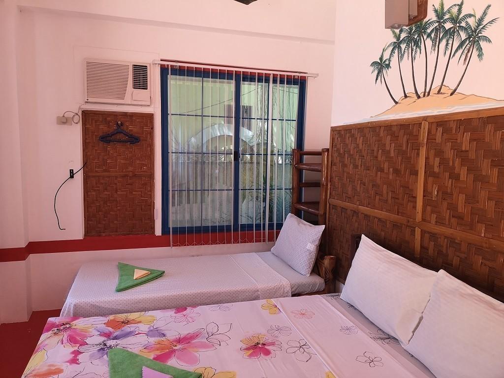 Betten im Zimmer