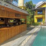 Außenbereich Hotel mit Pool