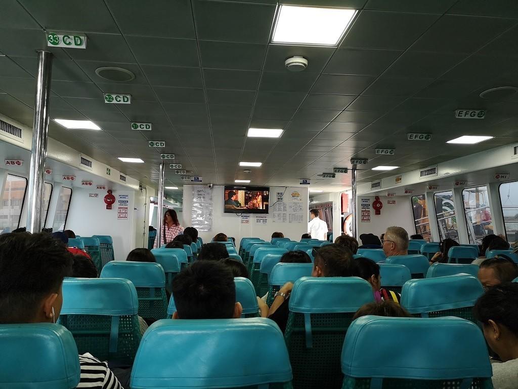 Fähre von Siquijor nach Bohol