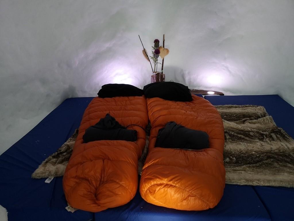 Übernachtung im Alpeniglu, Hochbrixen