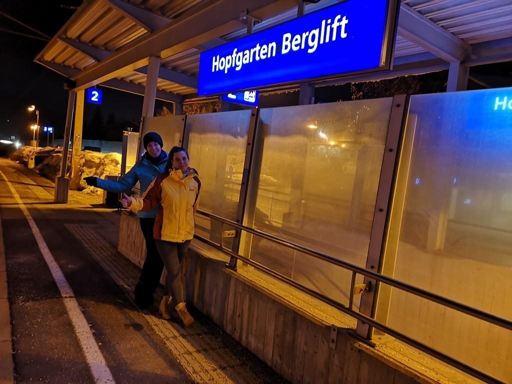 Bahnstation Hopfgarten Berglift