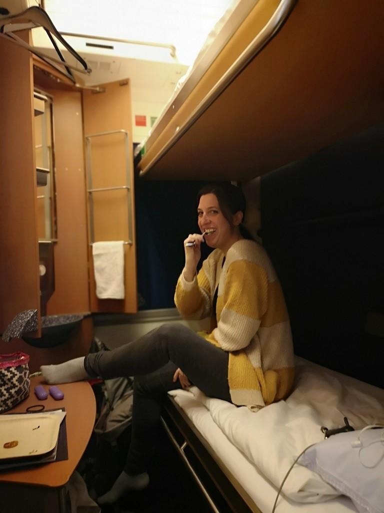 Ria on Tour geht auch ins bequeme Bett