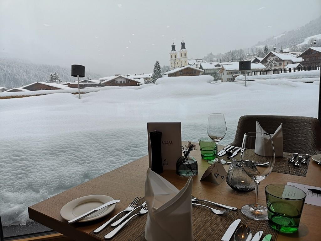 Ausblick vom Restaurant