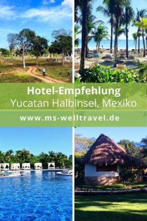 Hotelempfehlung auf meiner Yucatan – Rundreise, Mexiko