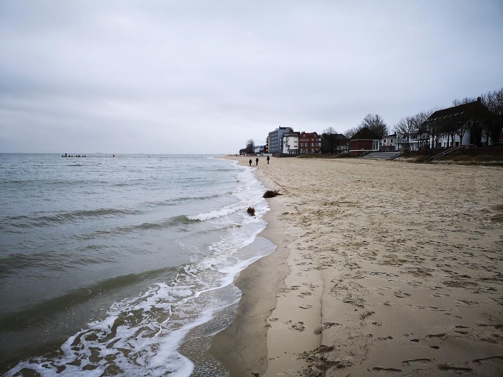 Strandspaziergang Insel Föhr
