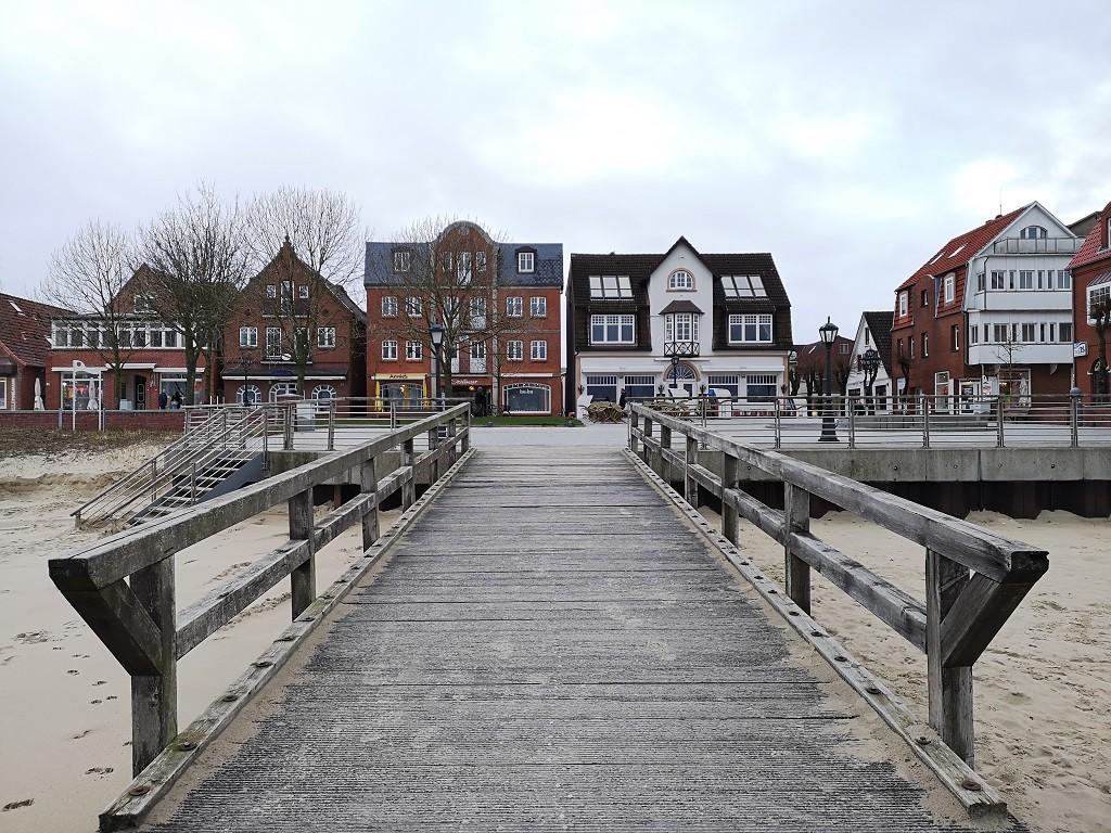 Kurpromenade und Seebrücke Föhr