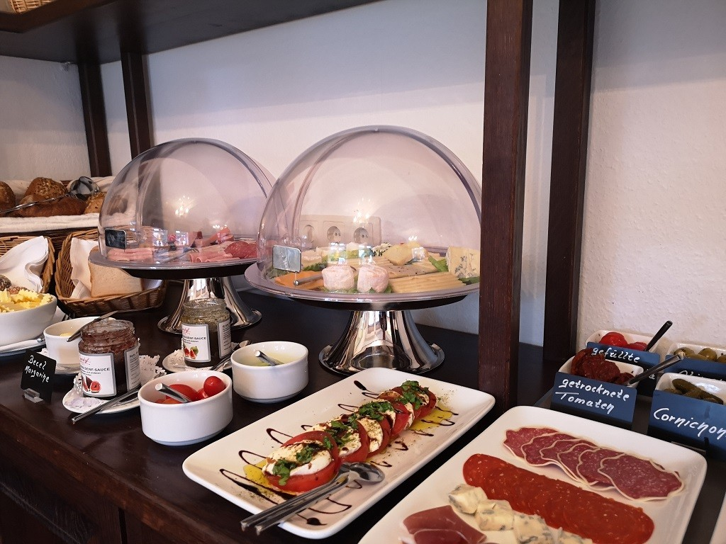 Ferien auf Föhr: Rackmers Hof Frühstücksraum