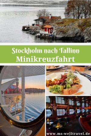 Reisebericht Kreuzfahrtfähre nach Tallinn