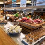 Food Angebot auf der Minikreuzfahrt