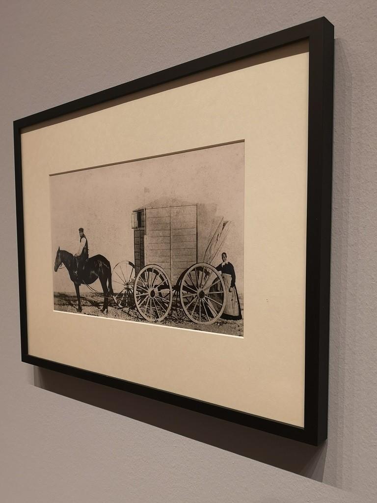 Fotografie vom Badekarren (1863)