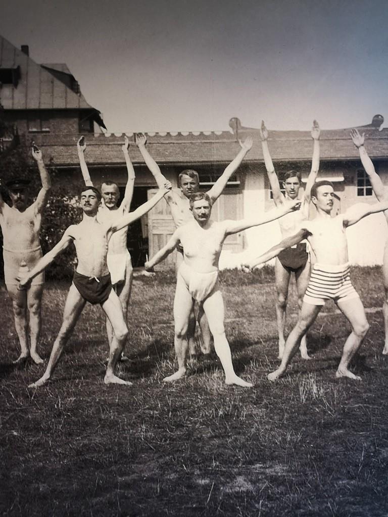 Sportkurs im Sanatorium (1900)