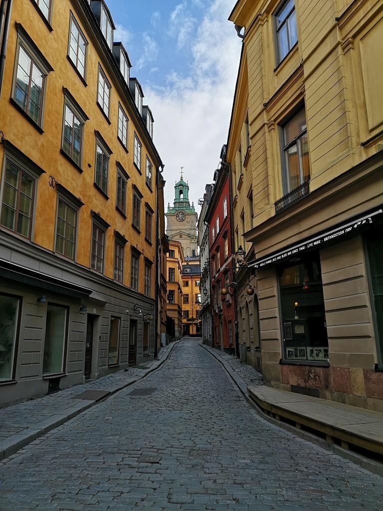 Gamla Stan Altstadt in Stockholm