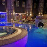 Poollandschaft im Aqua Spa Tallinn