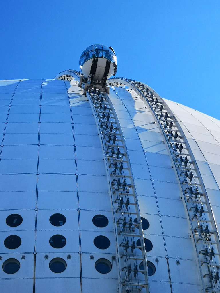 Blick auf den Ericsson Globe