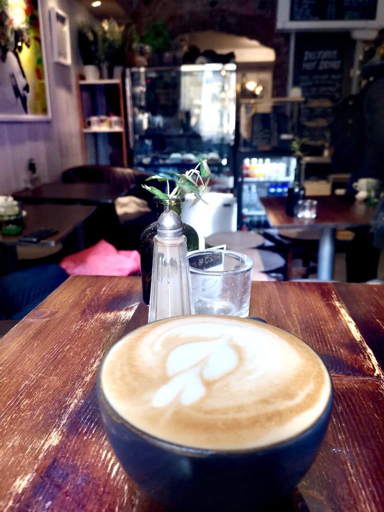 Viele süße Cafés in der Altstadt