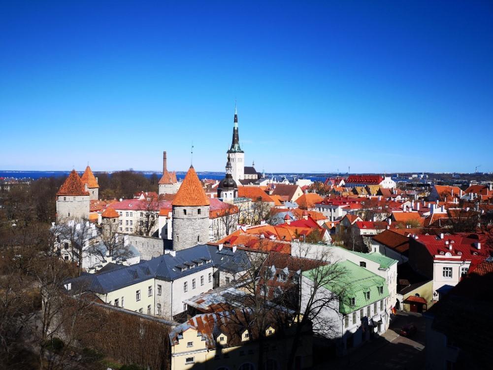 Aussichtsplattform - Blick auf die Altstadt