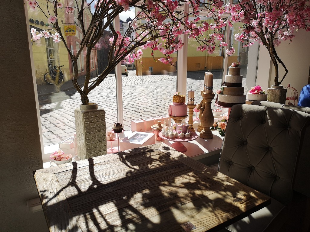 Süße Cafés in der Altstadt