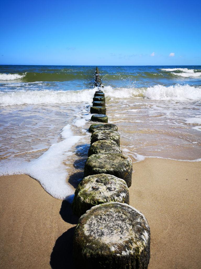 Ostsee beim Wandern genießen
