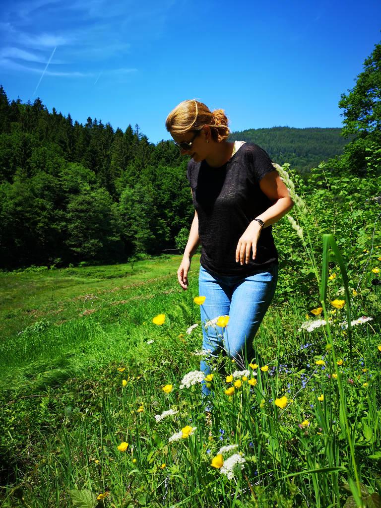 Umgeben von Wald und Wiesen