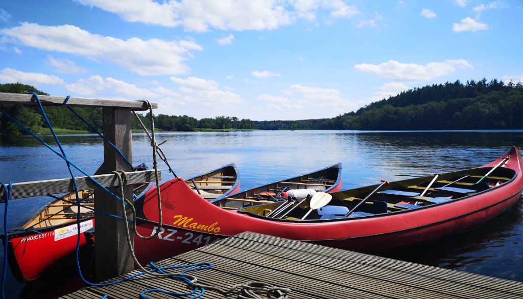 Outdoor Aktivität: Kanutour auf dem Schaalseekanal