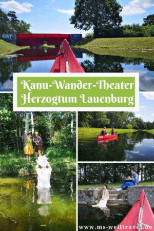 Kanu-Wander-Theater im Herzogtum Lauenburg