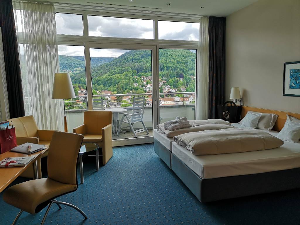 Zimmer mit Aussicht im Schwarzwald Panorama