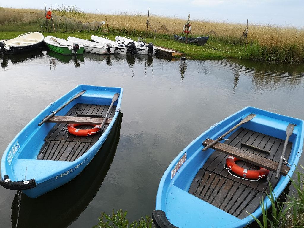 Bootstour auf dem Achterwasser