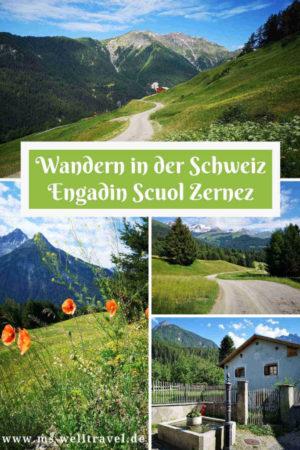Bericht über Wanderungen in der Schweiz