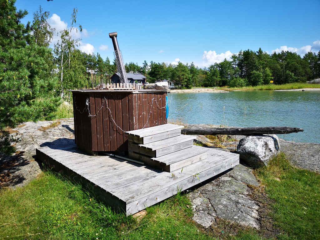 Hot Tub, die finnische Badewanne.