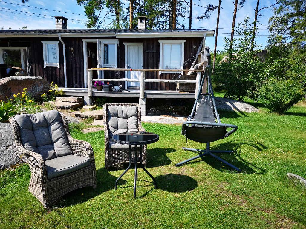 Entspannung im Garten mit Blick auf die Ostsee!