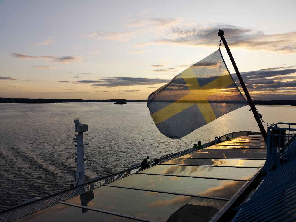 Goodbye Sweden! Auf Minikreuzfahrt nach Turku.