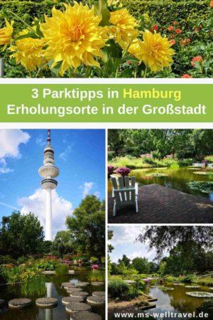 Naherholungsgebit in Hamburg