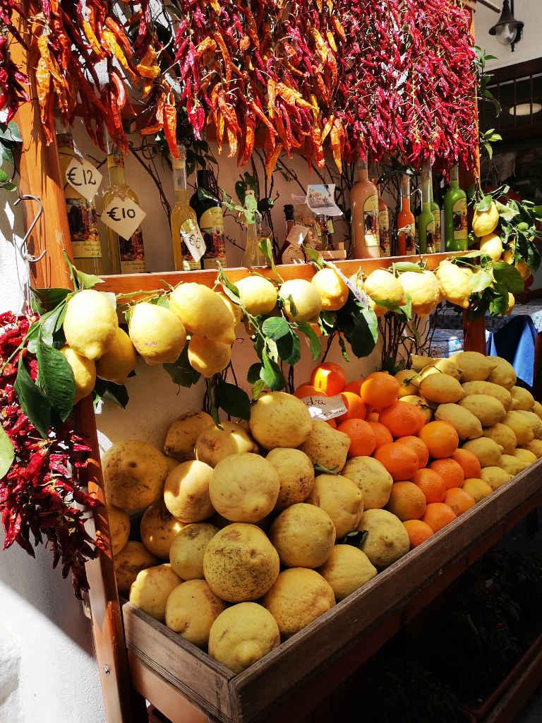 Riesige Zitronen