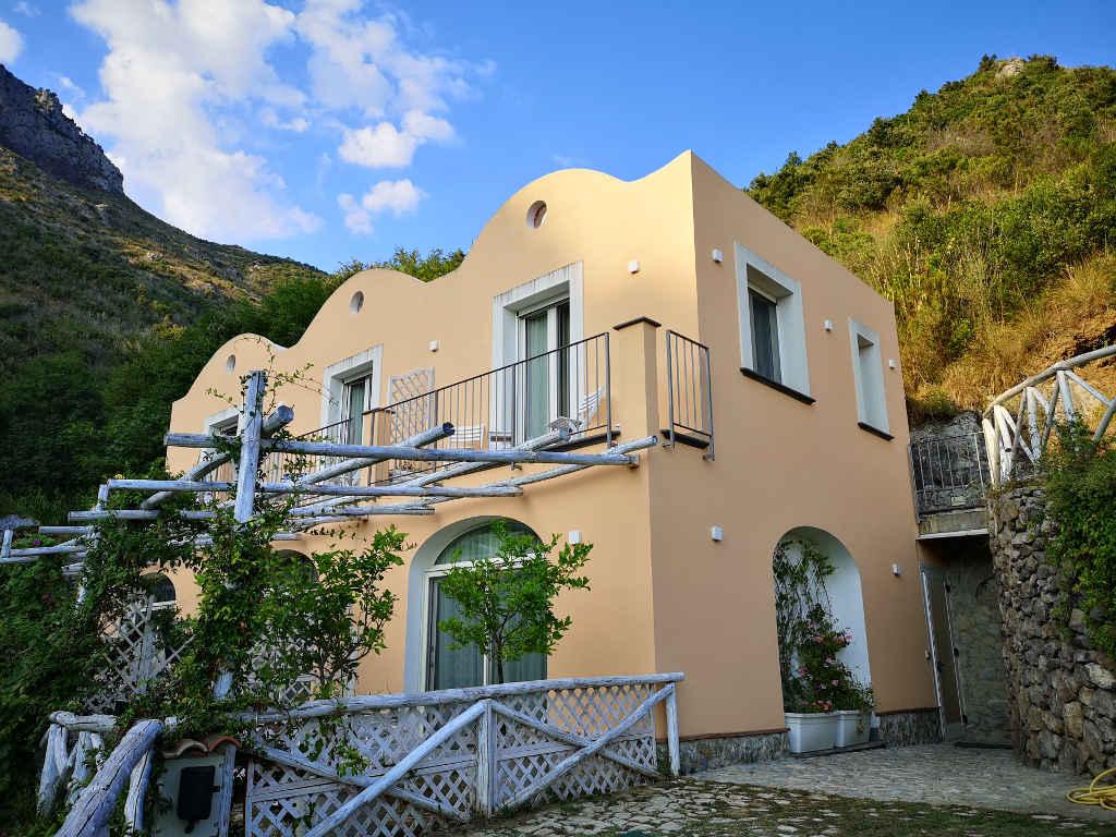 Unsere Unterkunft an der Amalfiküste