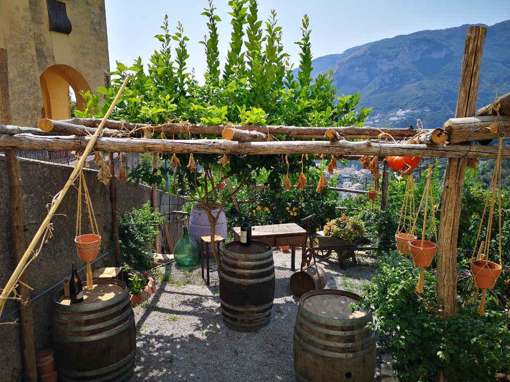 Obst-, Gemüse- und Weinbauterrassen