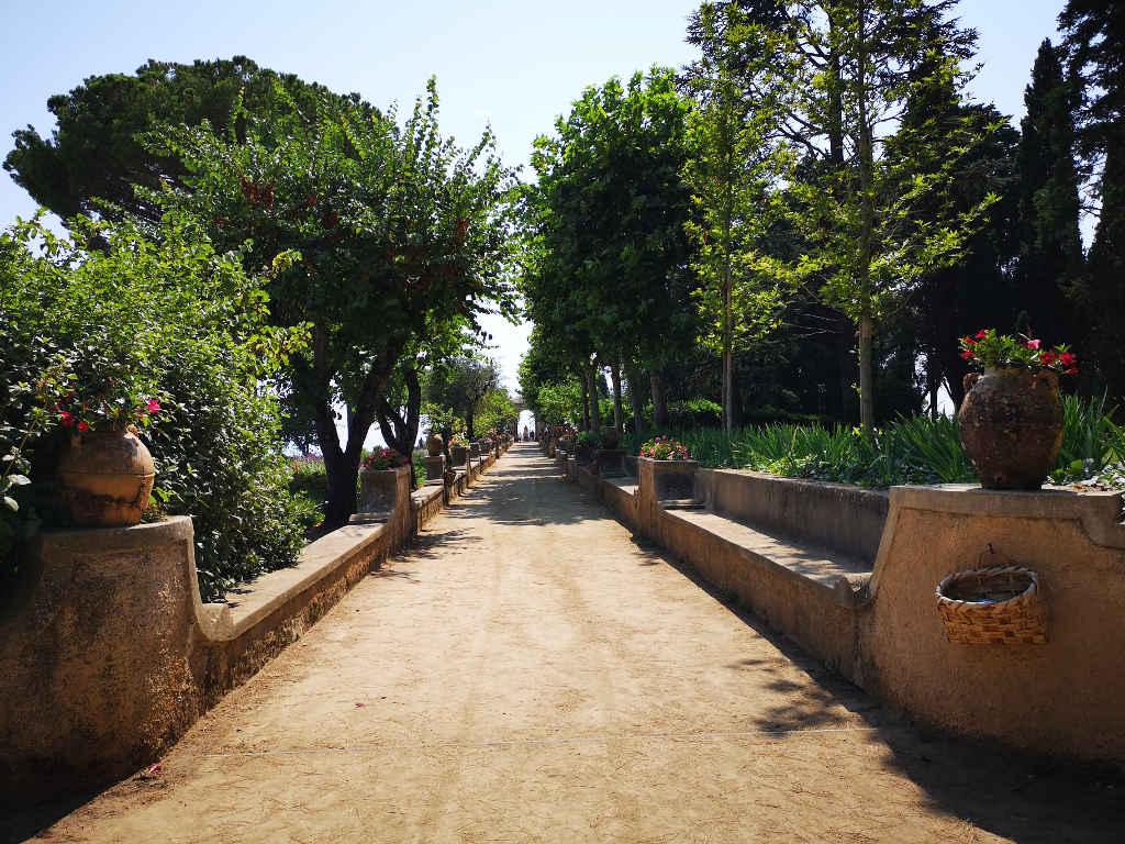Der Garten in der Villa Cimbrone
